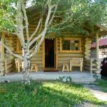 Our cabin front