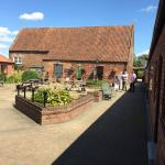 The view as you walk into the courtyard - The Barn