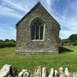 Footpath Church in field