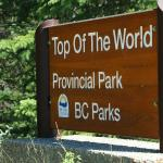Top of the World Provincial Park