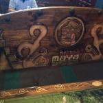 Carving on seat backs