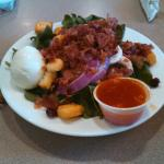 Small spinach salad...yum!