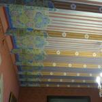 detalle techo en sala de estar