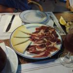 Ibericos platter
