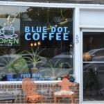 Blue Dot Coffee Foto