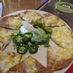quesadilla plate