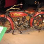 1920 Indian Head Motorcycle