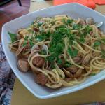 Espaguetti di mare!