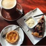 Tarts and coffee