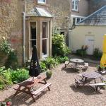 The suntrap beer garden!