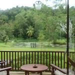 "Overlooking the Lotus Lake and the ""Sanjeewani"" Mountain"