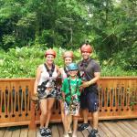 Ziplining family :)