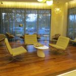 The comfortable lounge at ground floor