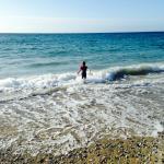 Local beach 5 min walk away