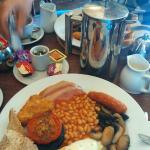 Hotel's full english breakfast