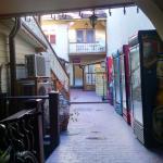 Courtyard aka restaurant storage area