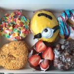 Amazing donuts at Amy's