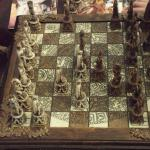 sitting room - cool chess board