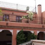 Vista su suite Merinides e terrazza