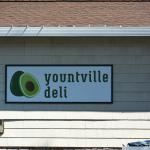 Yountville Deli Sign