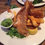 Wow the beat fish and chips in Cornwall!