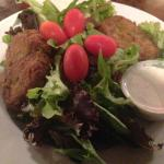 Crabcake Salad