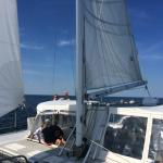 A few photos taken aboard the 9th Wave in Newburyport