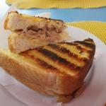 Tuna Toasty - mmmmm