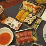 Mexican, Tiger, Maki saumon, Red Planet (livraison)