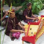 Gamelan welcome