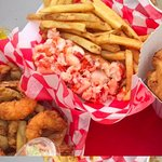 Clam cakes, lobster roll...at Palmer River Clam Shack