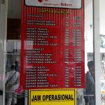 Jam Operasional Roti Unyil Venus