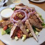 Huge Salads and Delicious Ribs