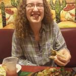"Vegetarian fajitas portion-size in Rice Lake - great! Vs. vegetarian ""fajita loca"" portion-size"