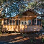 EcoShack exterior - Amity Point Camping Ground