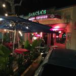 front of the resturant