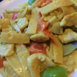 Coconut curry chicken at Lime Leaf