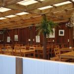 Open air 'indoor' seating