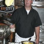 Chef Mark can FLIP a Western omelette