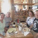 family get together at Mark's Finer Diner