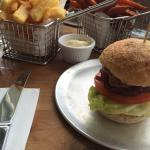 Mini burgers are relish!