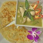 Green curry with loti