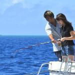 初心者の方も安心して参加できる船釣り体験フィッシング。釣った魚は夕食時に召し上がれます。