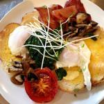 Poached big breakfast
