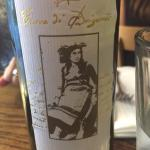 Wine recommendation from our server