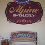 Alpine Bakery entrance
