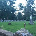 Cemetery on site