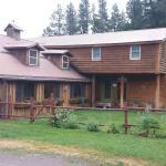 Main lodge at the Blacktail Ranch
