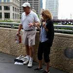 Rick's Chicago trivia!  Awesome way to get us engaged :)