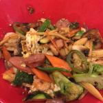 Custom fried rice bowl.
